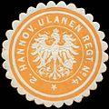 Siegelmarke 2. Hannoversches Ulanen Regiment No. 14 W0320234.jpg