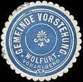 Siegelmarke Gemeinde Vorstehung Wolfurt - Vorarlberg W0261266.jpg