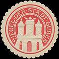 Siegelmarke Siegel der Stadt Guben W0348854.jpg