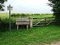 Signs with Gate - geograph.org.uk - 464521.jpg