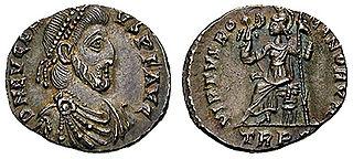 Eugenius Augustus of the Western Roman Empire