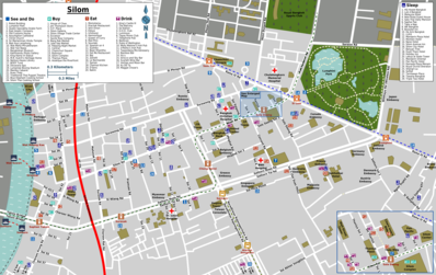 Map of Bangkok/Silom