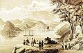 Simoda from Vandala Bluff, Perry's Expedition to Japan, 1853-54, artist- W. Heine (36865384753).jpg