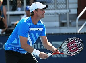 Simon Aspelin - Simon Aspelin at the 2010 US Open