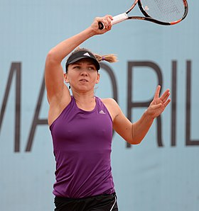 Simona Halep at Mutua Madrid Open 2015 B.jpg