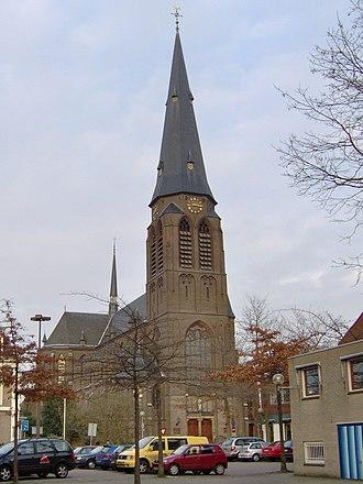 Almelo - The Catholic St. Georgius church in Almelo
