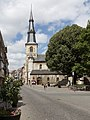 Sint Truiden, parochiekerk Sint-Maarten in straatzicht oeg22956 foto5 2015-06-09 12.02.jpg