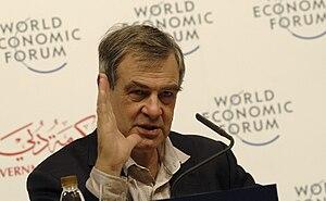 John Gieve - Gieve at the 2008 World Economic Forum's Summit on the Global Agenda in Dubai.