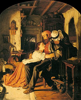 Joseph Noel Paton - Home' - The Return from the Crimea
