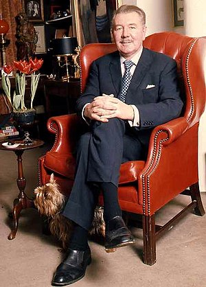 Michael Redgrave - Sir Michael Redgrave by Allan Warren, 1973