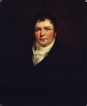 Richard Phillips (publisher) - Portrait of Sir Richard Phillips by James Saxon, (1806), oil on canvas