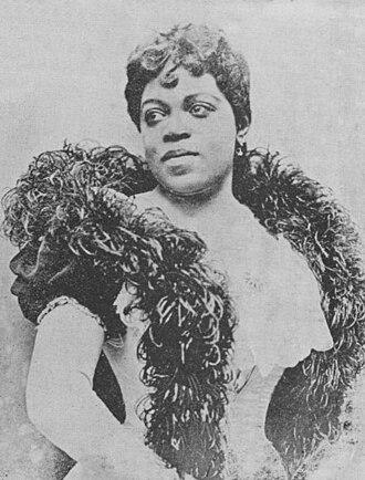 Matilda Sissieretta Joyner Jones - Jones in 1897