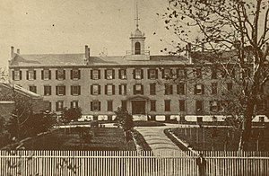 Sisters of Charity Hospital (Buffalo) - Sisters of Charity Hospital in 1870.
