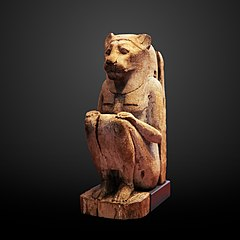 Sitted lion goddess-N 5209