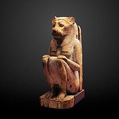 Sitted lion goddess-N 5209