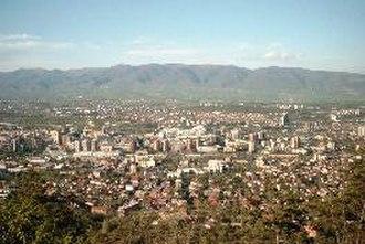 Vodno - Skopje from Vodno