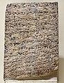 Slab with Aramaic Hatran Inscription from Hatra, Iraq. Iraq Museum.jpg