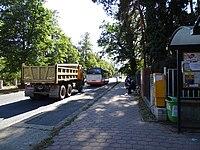 Slavětínská, zastávka Smržovská, autobus 303.jpg