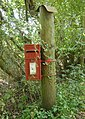 Sleeping Beauty's Post Box^ - geograph.org.uk - 1471826.jpg