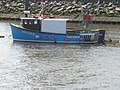 Small fishing boat on River Wear - geograph.org.uk - 518917.jpg