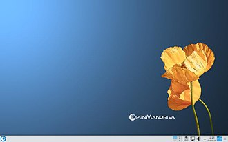 OpenMandriva Lx - Image: Small screenshot of Open Mandriva Lx 3.0 Einsteinium