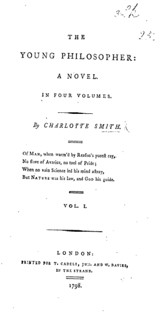 Charlotte Turner Smith - Image: Smith Young Philosopher Title