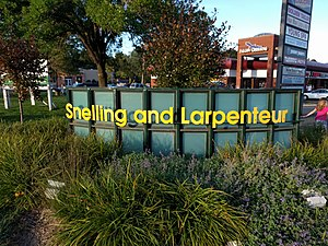 Falcon Heights, Minnesota - Corner of Snelling and Larpenteur Avenues