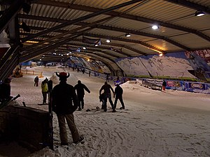 Snowworld inside Zoetermeer