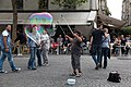 Soap bubble 2, Place Georges-Pompidou, Paris 2012.jpg