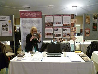 Society of Antiquaries of London - The Society of Antiquaries of London at the University of London History Day, 2016.