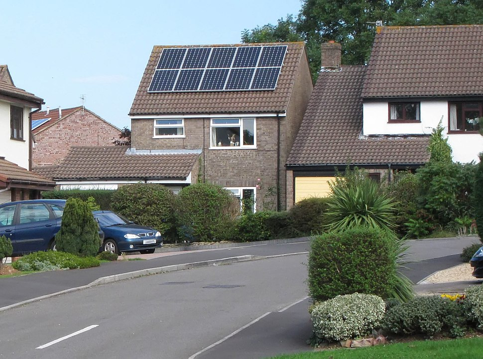 Solar panels in yate england arp