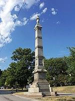 Soldier's Monument Davenport, Iowa SW