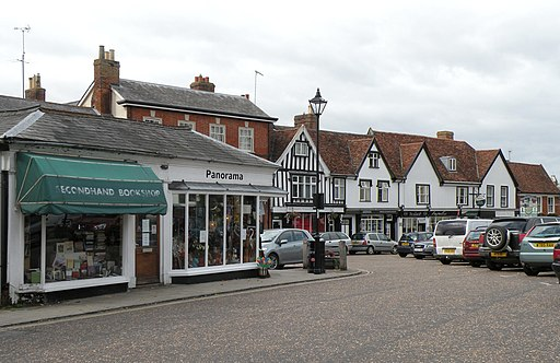 Some of the town shops in Framlingham - geograph.org.uk - 2068068