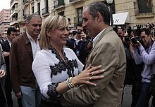Sonia Castedo et Francisco Camps.