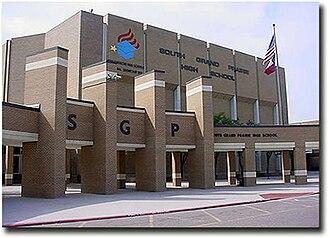 South Grand Prairie High School - Image: South Grand Prairie High