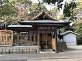 South side of Gishikiden Hall of Sumiyoshi Shrine.jpg