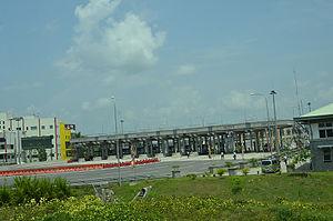 E01 expressway (Sri Lanka) - Kottawa Intersection