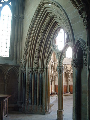 Dean of Southwell - The chapter house at Southwell Minster