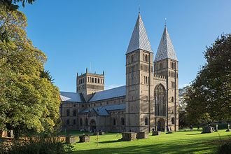 Southwell Minster - Image: Southwell Minster 2016 north west view
