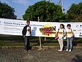 Spanduk Selamat Datang dan Bertanding Panitia Hendra Exga Mariyanah.JPG