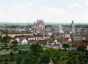 Circle of the Rhine - Speyer around 1900 in Bavarian times