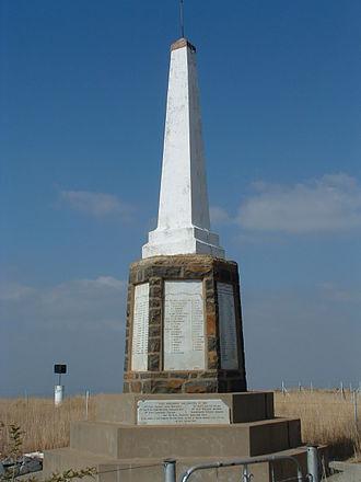 Spion Kop Battlefield Memorials - British memorial