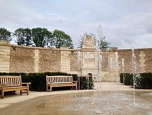 Square des Francine - Image: Square des Francine, le jet d'eau