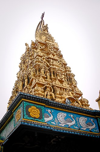 Mariamman - Sri Mariamman temple in Medan, Indonesia