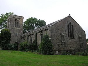 Barton, North Yorkshire - St Cuthbert and St Mary's Church