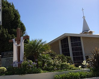 Our Lady of the Angels Pastoral Region - Image: St. Jerome Church Los Angeles California