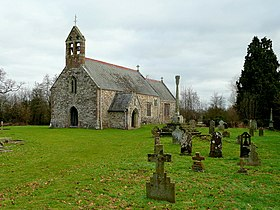 St. Mary's church, Llanfair Kilgeddin - geograph.org.uk - 1688848.jpg