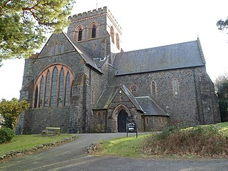 Llanberis - St Padarn's church