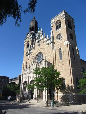 St. Stanislaus Kostka Church (Chicago) - Image: St. Stanislaus Kostka Church Chicago