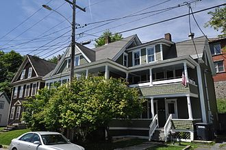 National Register of Historic Places listings in Caledonia County, Vermont - Image: St Johnsbury VT 439Pearl Street
